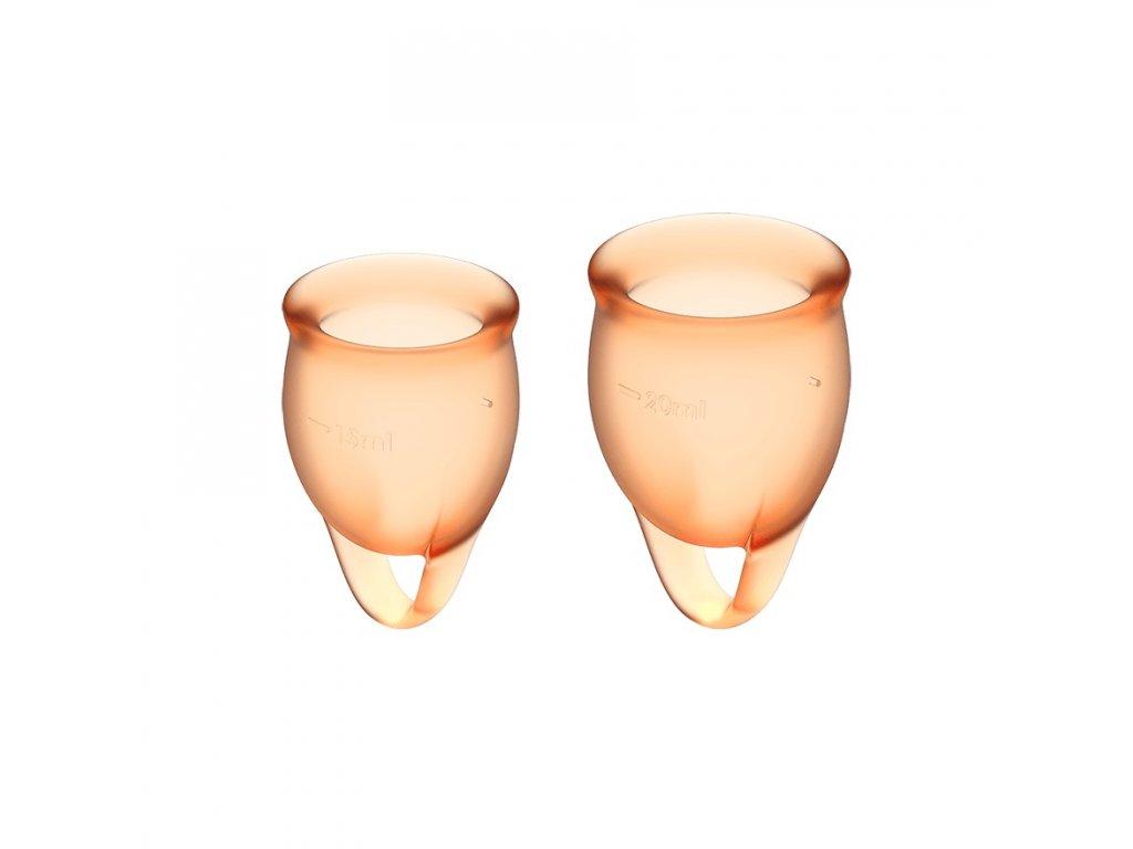 menstruacni kalisek satisfyer FC orange 1