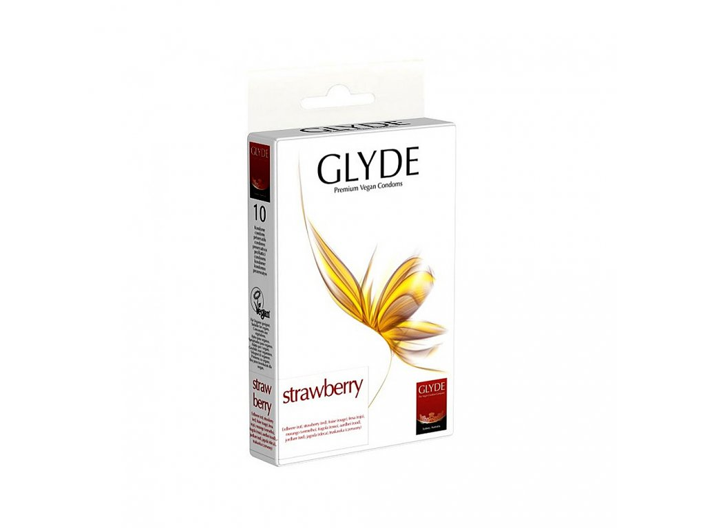 glyde kondom strawberry