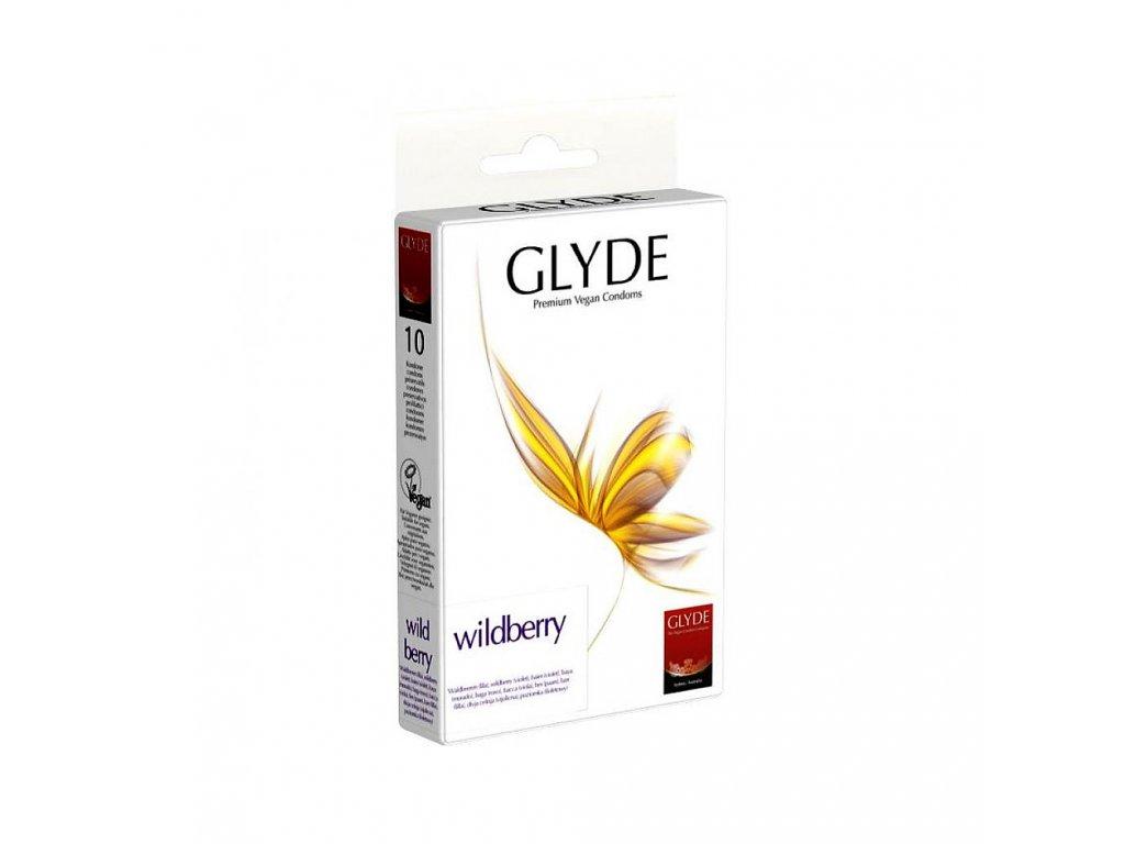 glyde kondom wildberry