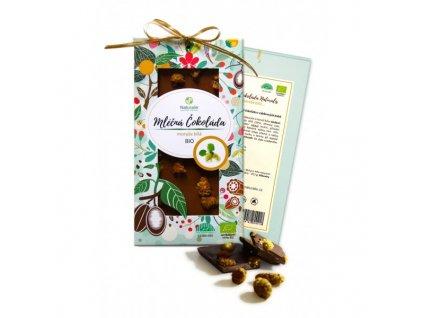 bio cokolada naturalis s morusi bilou 80g