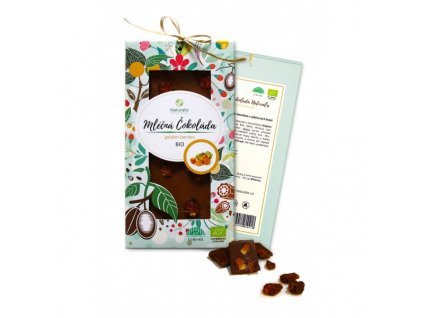 bio cokolada naturalis s golden berries 80g
