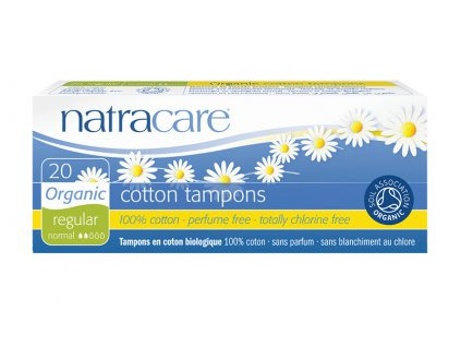 tampony regular natracare