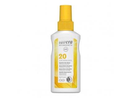 lavera opalovaci sprej sensitiv spf 20 100ml