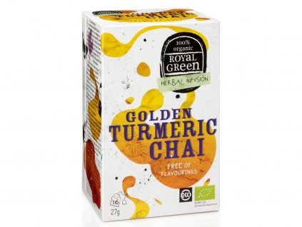 turmeric chai caj royal green