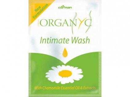 vzorek gel na intimni hygienu organyc