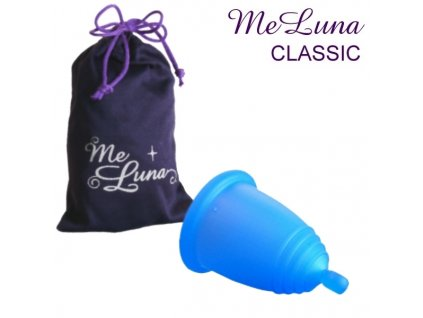 Me Luna L s kuličkou modrá