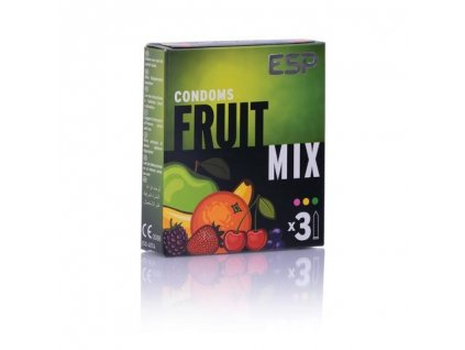 esp veganske kondomy fruit mix 3ks