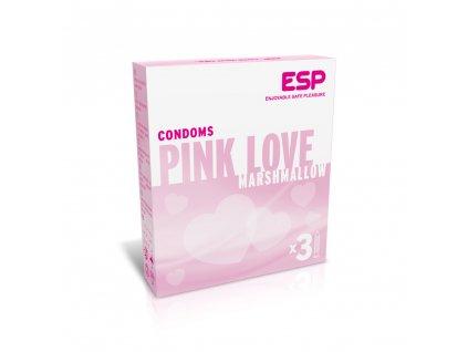 esp veganske kondomy pink love 3ks