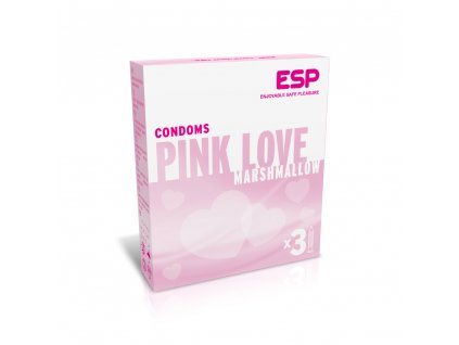 esp veganske kondomy pink love 3ks