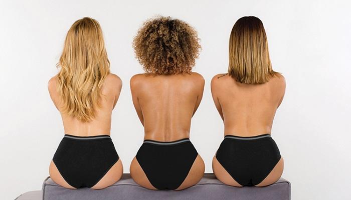 Menštruačné nohavičky Dorina: rozmery a dĺžka savej vrstvy