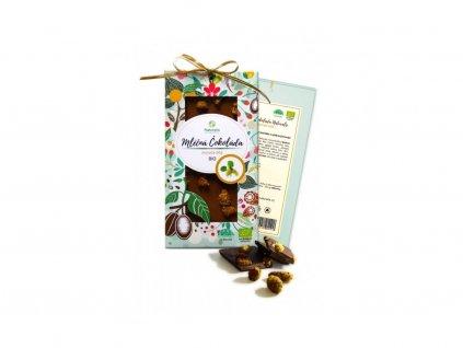 26366 bio cokolada naturalis s morusi bilou 80g