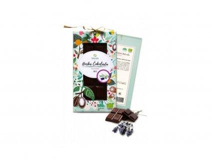 26381 1 bio cokolada naturalis s levanduli 80g horka