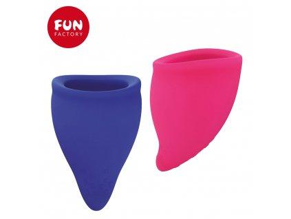 Menstruační kalíšek fun cup velikosti A a B