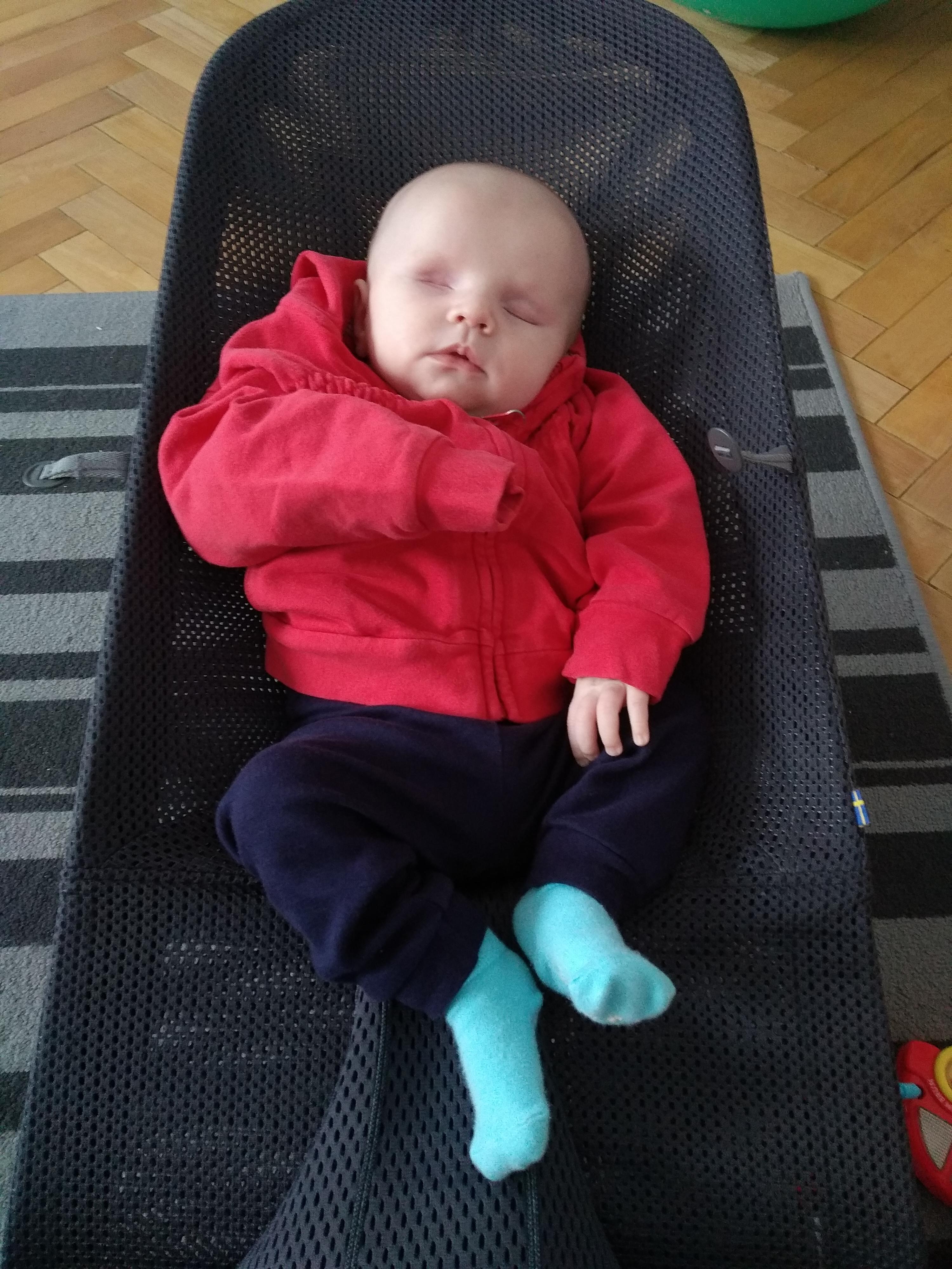 Jarní lockdown a hluchoslepé miminko?