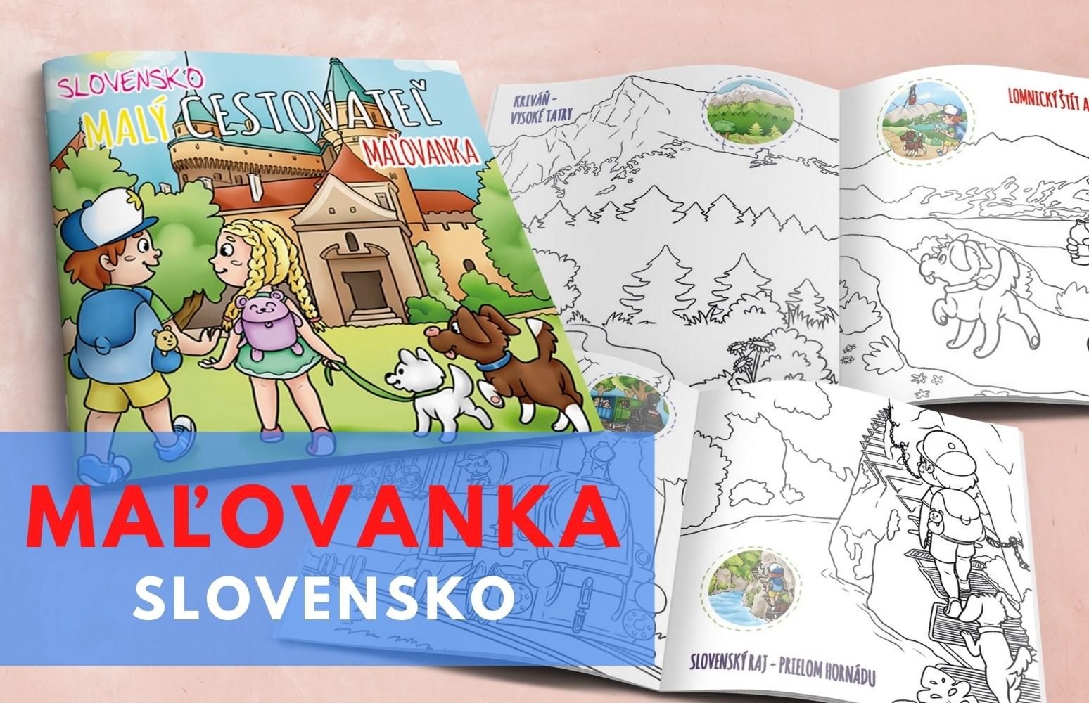 Maľovanka Slovensko