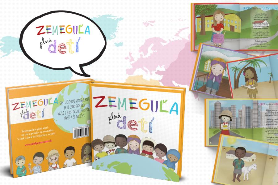 Zemeguľa plná detí  - kniha pre deti
