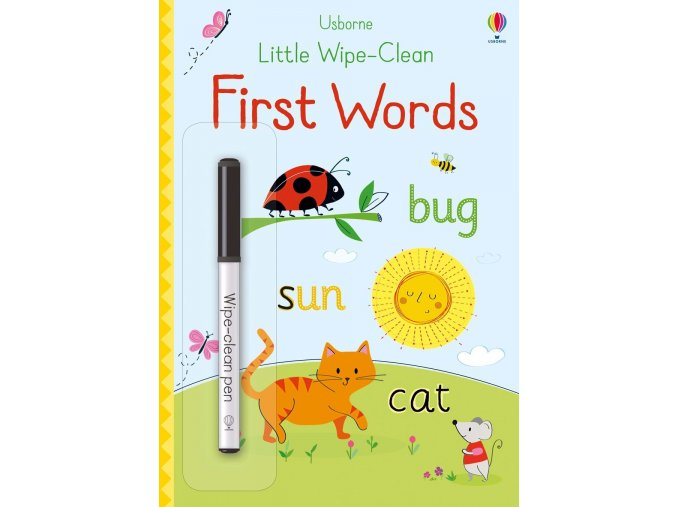 little wipe clean first words