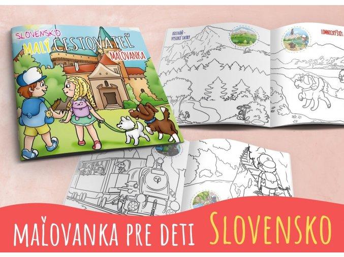 Malý cestovateľ Slovensko - Maľovanka