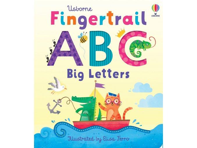 ABC končekmi prstov velke pismena