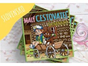 Kniha Malý cestovateľ - Slovensko