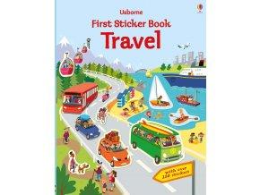 Kniha nalepiek cestovanie