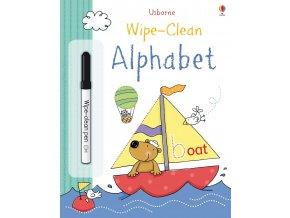 alphabet wipe clean english