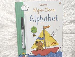 Alphabet Wipe Clean - učme sa abecedu - zmaž a píš znova