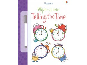 Telling the time wipe and clean