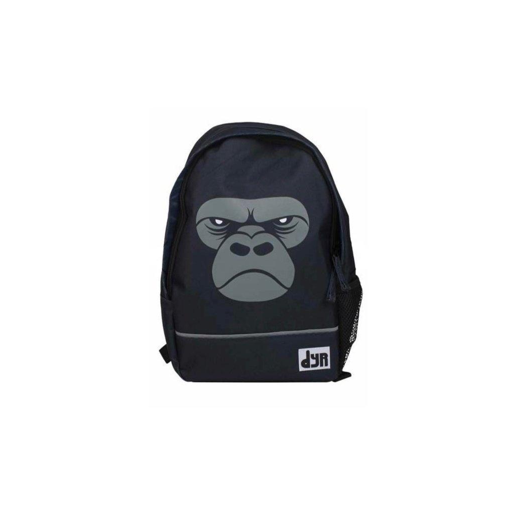 detsky batoh cerny gorila dyr