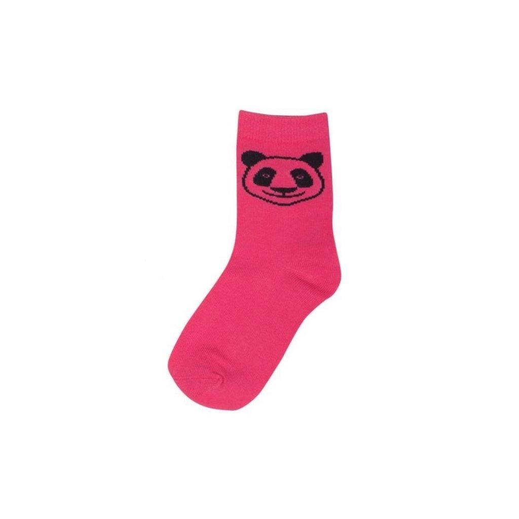 detske ponozky barevne ruzove dyr 1