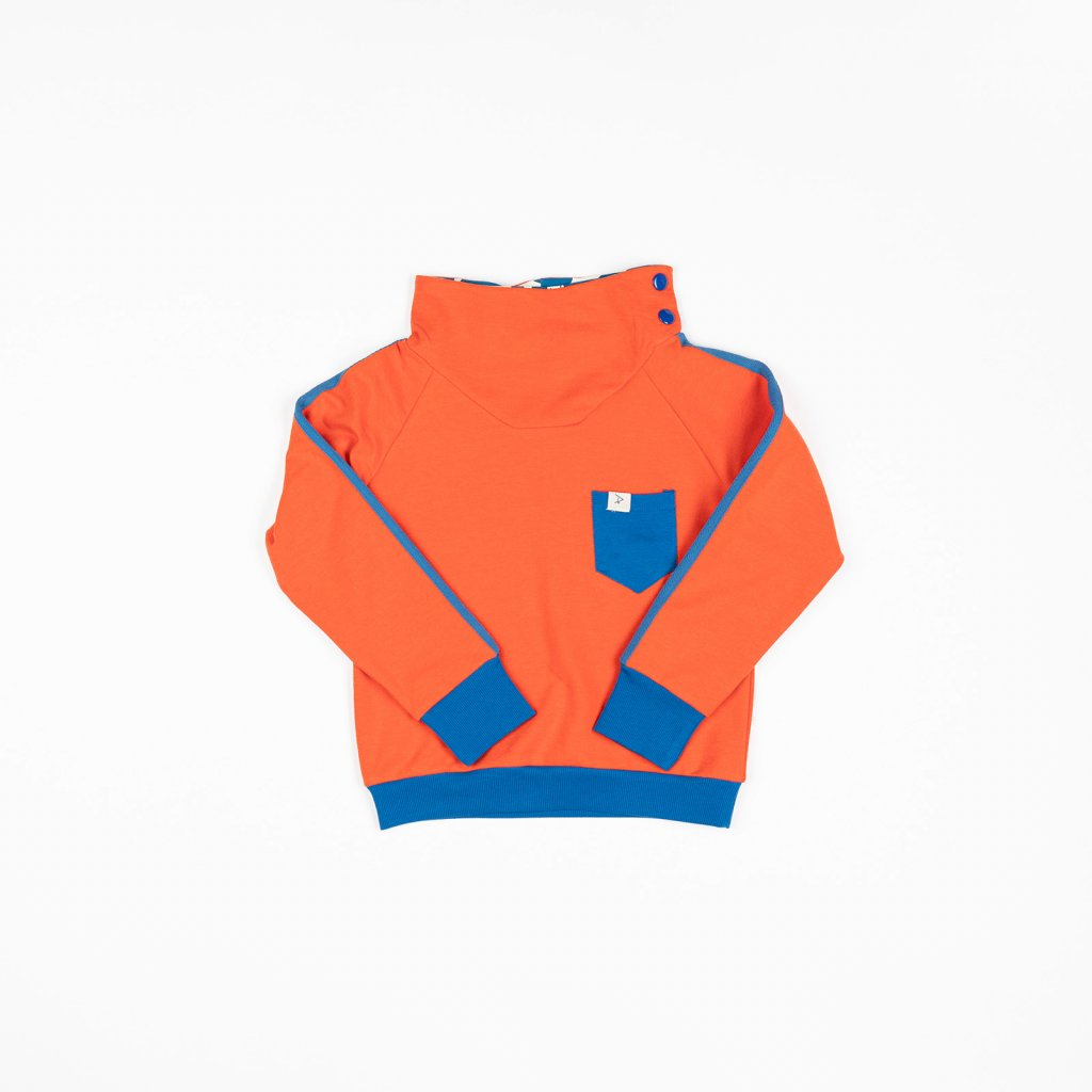 chlapecka mikina detska oranzova alba of denmark