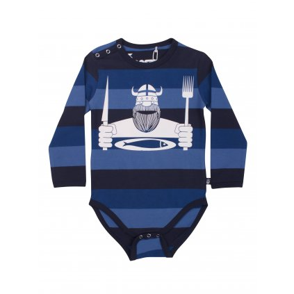 chlapecke detske body s potiskem modre danefae