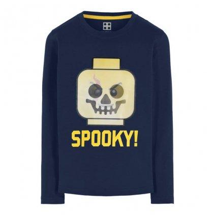 LEGO wear tricko s dlouhym rukavem LEGO Boy Spooky M 22657