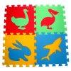 Pěnový koberec puzzle Zvířátka IV tl.16mm