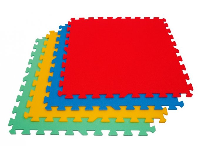 Pěnové puzzle koberec velký jednotlivý dílek tl.16mm