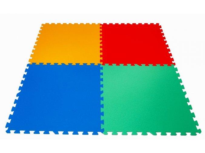 Pěnové puzzle koberec 4 velké dílky