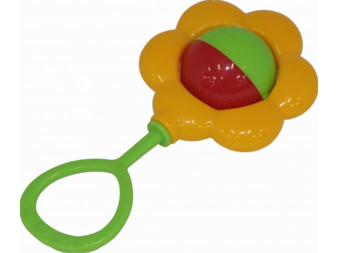 Chrastítko Květinka
