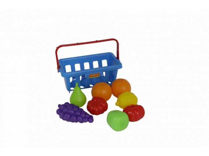 Polesie Sada potravin v košíku č.2 (9 kusů)