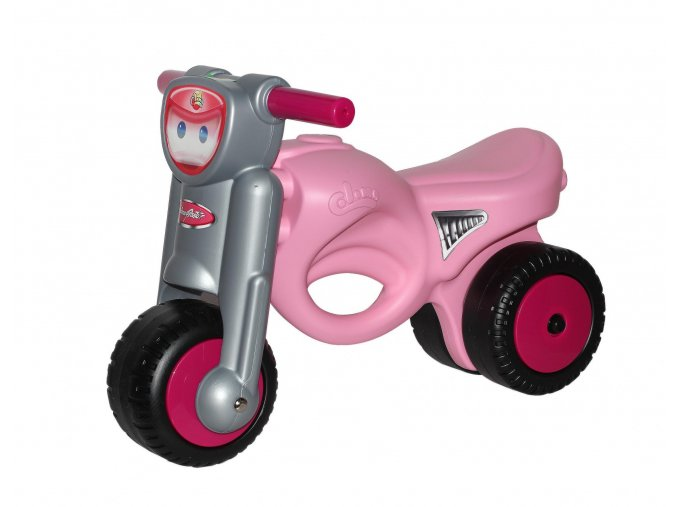 Polesie Odrážedlo motorka MiniMoto - růžová