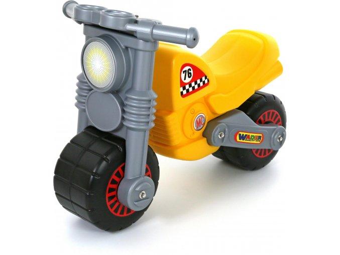 Wader Odrážedlo Motorbike - žluté