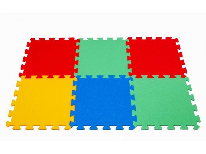 Pěnové puzzle koberec 6 dílků