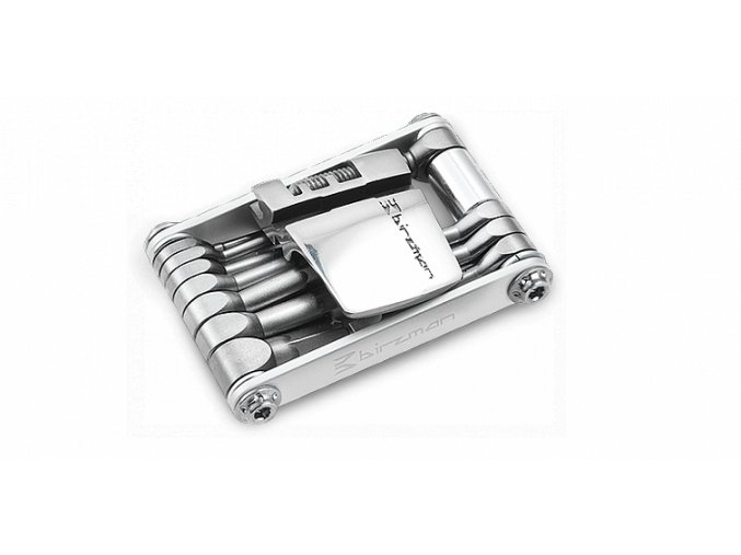 Multiklíč Birzman Feexman E Version, stříbrný, 15 funkcí