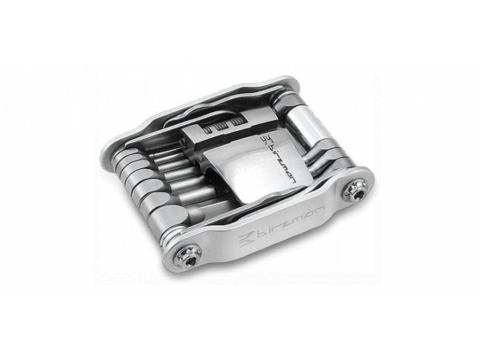 Multiklíč Birzman Feexman E Version, stříbrný, 20 funkcí