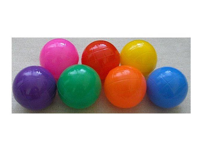 Sada míčků suché, mokré bazény, hraní 14 ks. Průměr 7 cm, 7 barev