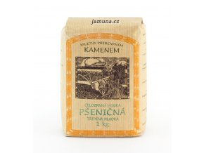 Pšeničná mouka celozrnná hladká (hmotnost 6 kg)