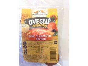 Celozrnné sušenky ovesné - Dýně, slunečnice a rozinky 50g