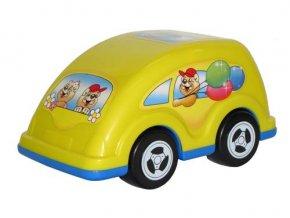 Auto Teddy v sáčku