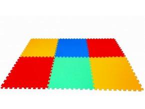 Pěnové puzzle koberec 6 velkých dílků tl.16mm