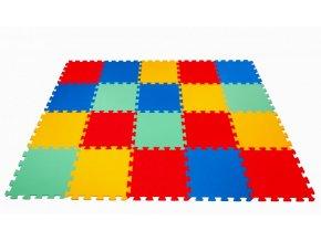 Pěnové puzzle koberec 20 dílků tl.16mm