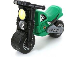 Wader Odrážedlo Motorbike - zelené